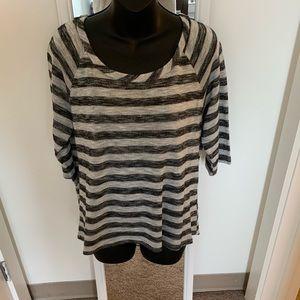 Sweaters - Striped Casual Sweater